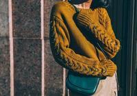 毛衣+襯衫,最爆表穿搭方法!