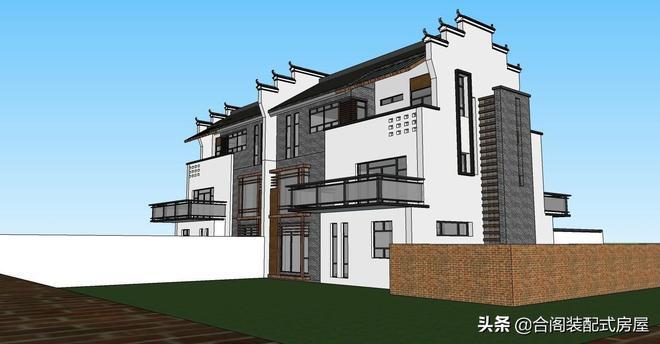 2019年越來越流行的中國懷舊徽派復古新中式建築,你欣賞嗎?