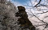 井岡山的雪