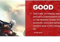 《噬神者3》IGN7.6分 戰鬥體驗讓人興奮、內容平淡乏味