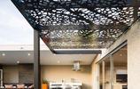 廊架合集:沒想到庭院裡用鐵藝做遮陽棚居然這麼美,私家花園必備