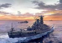 被友軍詛咒剋死的超級戰列艦:二戰日軍大和級戰列艦!