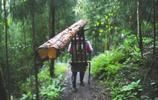 深山女背夫身懷絕技 平衡力堪比平衡木運動員