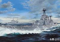 胡德號戰巡戰史(一)——為皇家海軍而生,與日德蘭海戰的奇緣