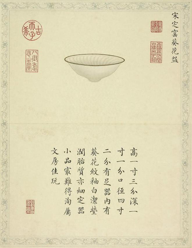 乾隆皇帝的陶瓷品味,美瓷入畫,清宮留存的陶瓷圖譜