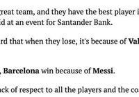 巴薩歐冠出局,大羅:贏球都是梅西的功勞,輸球不能總是巴帥和庫蒂尼奧背鍋,你怎麼看?