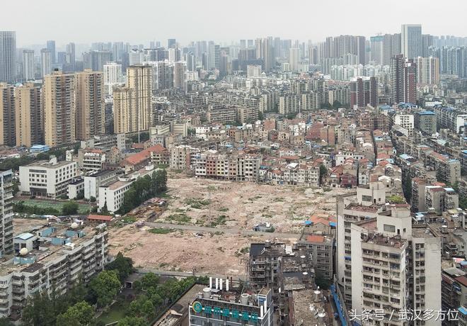 武漢城區內,私房最多的地帶