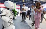 北京中國國際服務貿易交易會上高新技術吸引觀眾