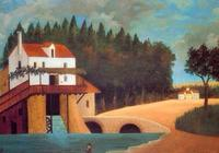 油畫-亨利·盧梭