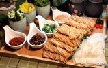 咱們的陝菜就是量多實在,36元的菜有一大盤,7個菜還有兩份主食