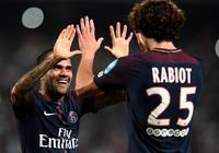 法國超級盃-巴黎2-1逆轉摩納哥,阿爾維斯傳射