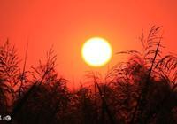 小詩:夕陽紅