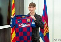 巴塞羅那簽下英格蘭及西布朗青年球員巴里