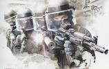 一組裝備彪悍的俄羅斯特種部隊行動圖集