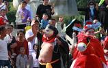 安徽亳州曹操公園豬八戒特別搶鏡,豐富市民遊客文化生活