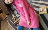 讓你少女心氾濫的粉色衛衣,時尚又減齡,氣場不輸20歲妙齡少女