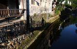 安徽龍川之晨:小橋流水人家,徽派建築美呀