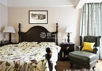 張家口天寶中苑三居120平美式風格裝飾裝修案例效果 全包12萬