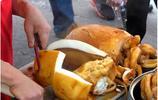 香港每天能賣出一千碗的美食 美食街的滷墨魚38元一碗