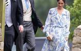同樣拎著裙子走路,凱特王妃和梅根的姿勢大不同,大嫂更為優雅