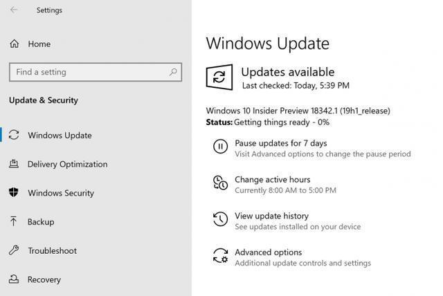 [圖]Windows 10 Build 18342發佈:引入諸多遊戲改進