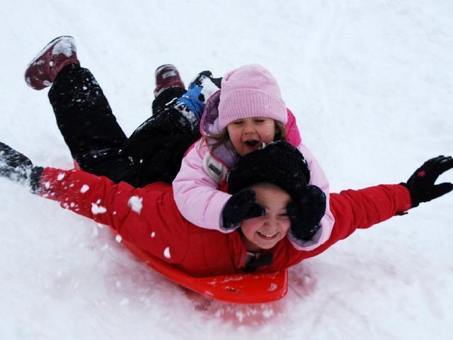 冬天下雪時要帶娃做的35件事,南方人羨慕了