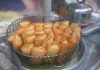 潮州菜式一春捲,豬肉脹糯米