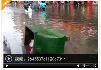 煙臺市區這裡變成河,也有地兒滴水未落