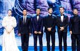 鹿晗和舒淇出現在第22屆上海國際電影節的開幕式上