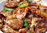 炒螃蟹《做法》香死了,好吃開胃,秒變家常下飯菜!