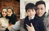 41歲靳東全家生活照,老婆比他還出名,素顏超美,兒子顏值也不差