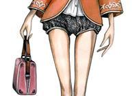 特漂亮的服裝設計手繪,服裝設計小白的目標~
