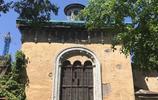 哈爾濱,文化公園裡的百年教堂建築