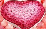 一萬句我愛你,不如一束玫瑰花,永不凋謝只為你
