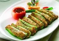 馮二靜的108道川菜:釀青椒(58)