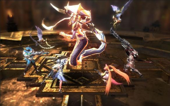 Unity 5引擎MMORPG新作《熾血皇戰》實機演示公佈