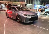 全新豐田卡羅拉海外實車現身 顏值不輸思域 車身加長配2.0L+CVT