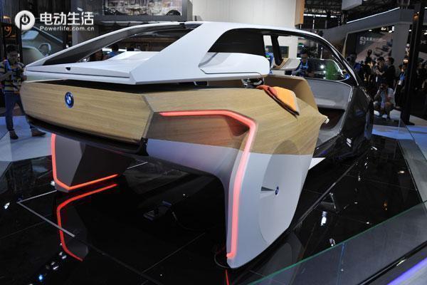 概念車中的概念車 看寶馬i未來概念座艙