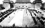 八國聯軍佔領下的北京,聯軍在紫禁城悼念去世的英國女王