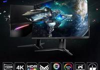微星推出新款電競顯示器:旗下首款4K HDR曲面屏