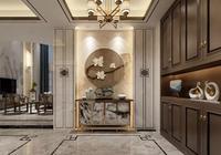 大理石玄關設計,是家裝重要的一道風景!