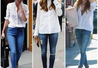 女生如何穿搭白襯衫才時尚?