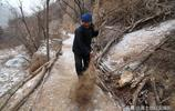 山西農村,有8個子女的95歲老人獨居地坑院,看她生活是啥樣