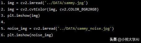 深度學習中使用OpenCV進行圖像處理