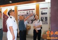 海軍原司令員張連忠上將考察海軍誕生地紀念館