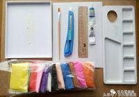 兒童手工課 怎樣用廢棄的手機盒做一個漂亮黏土手工