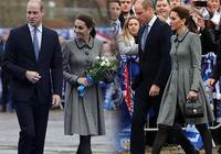凱特王妃發飆13萬行頭出席萊斯特城悼念活動,論會花錢梅根輸了
