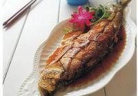 「美食滋味」煎燜白魚