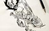 創意鋼筆畫:藝術不僅需要靈感,更需要腦洞!