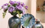 這些陶瓷花瓶特別有藝術感,還會增加家人的財運和人緣